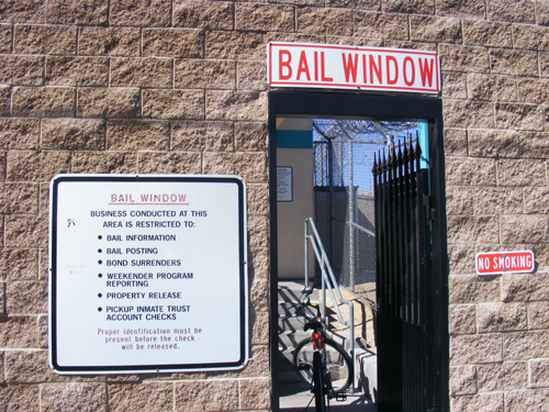 North Las Vegas Jail Bail Window