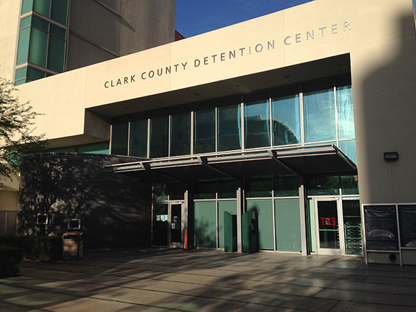 The CCDC is one of the local jails in Las Vegas